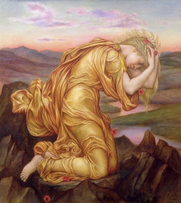Demeter Mourning for Persephone, Evelyn Pickering de Morgan, 1906